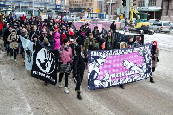 Yhdessä fasismia vastaan