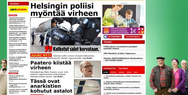 poliisinvirhe